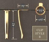 Clip style R